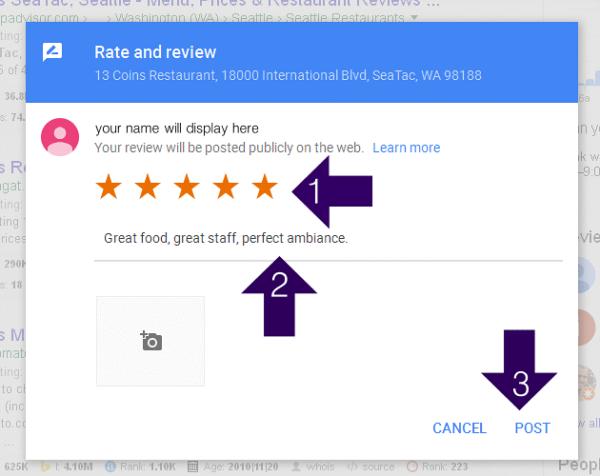 Cum să scrieți recenzii online pe Google Maps pentru vopsitoria / tinichigeria Arcom Auto Service.