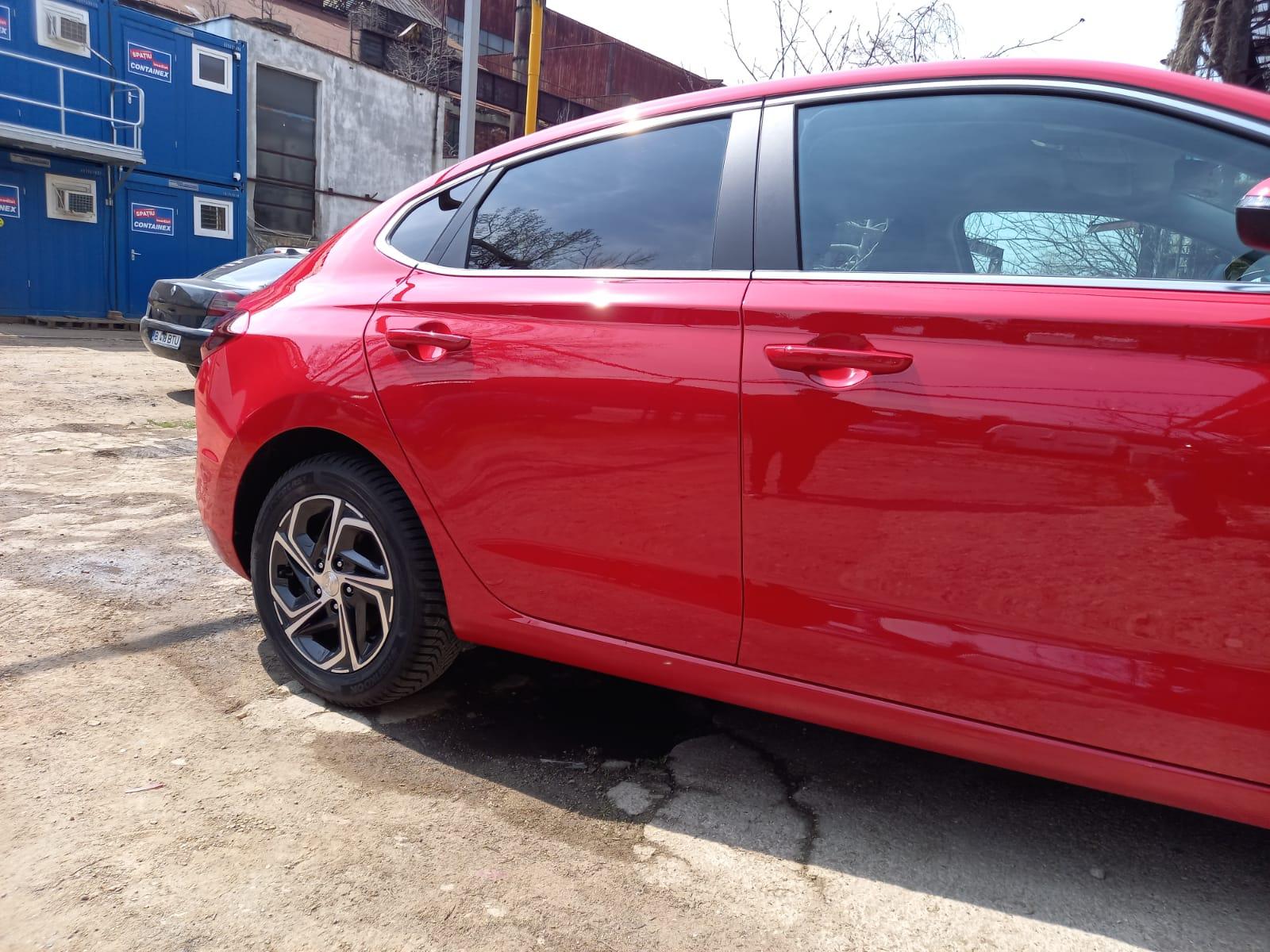 Vopsire autoturism Hyundai